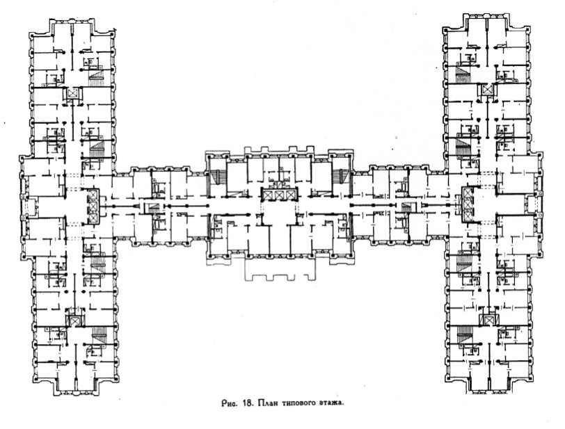 Рис. 18 План типового этажа